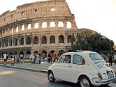 Rome tours - Classic car tour in Rome by Fiat 500 Vintage