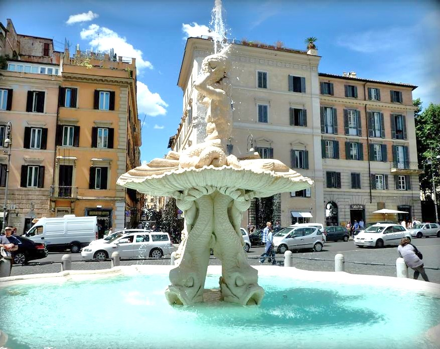 holiday Rome -walking tour squares and fountains Rome4all